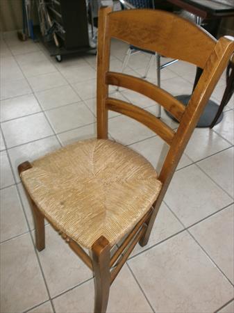 chaises bois paille a 12 35000