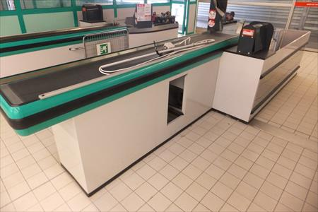 terminal de caisse gauche tapis roulant - as6: à 650 € | 62570