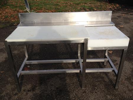 table de decoupe billot chassis inox 380 47000 agen lot et garonne aquitaine. Black Bedroom Furniture Sets. Home Design Ideas