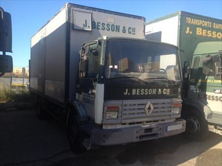 camion ptac 3 5 t fourgon avec parois et toit rigide renault midlum 2800 69120. Black Bedroom Furniture Sets. Home Design Ideas