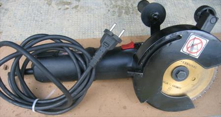 Scie gemini 1150 double lame gemini 250 81100 for Scie a eau carrelage