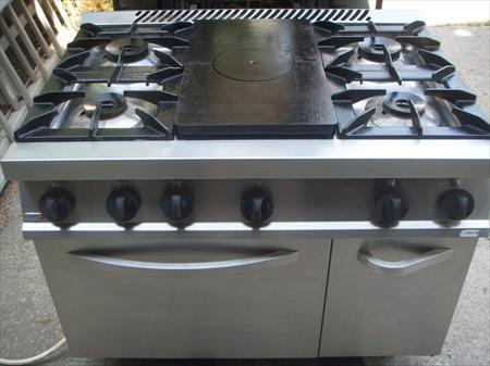 Pianos de cuisson gaz professionnel en france belgique pays bas luxembourg - Piano de cuisson francais ...