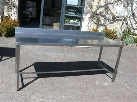 ref 15065 table inox 410 33000 bordeaux gironde aquitaine annonces achat vente. Black Bedroom Furniture Sets. Home Design Ideas