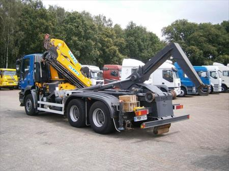camion ptac 3 5 t benne amovible bras iveco trakker 68190 ensisheim haut rhin. Black Bedroom Furniture Sets. Home Design Ideas