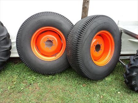 pneu tracteur gazon a vendre