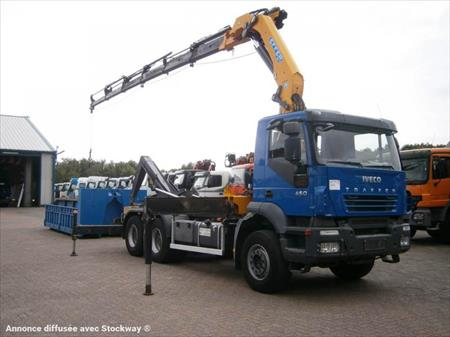 camion ptac 3 5t benne amovible bras iveco 6x4 grue 27tm longu 68190 ensisheim haut. Black Bedroom Furniture Sets. Home Design Ideas