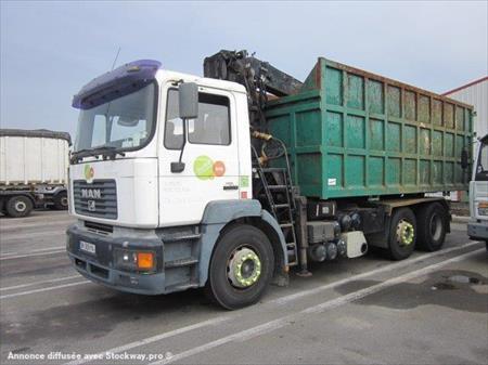 camion ptac 3 5 t benne amovible bras man camion bras grue 6000 93100. Black Bedroom Furniture Sets. Home Design Ideas