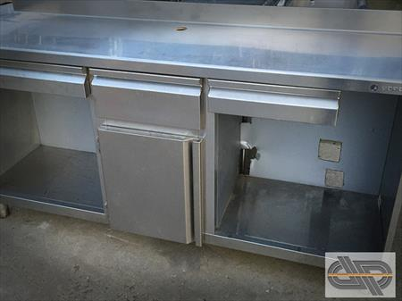 meuble inox comptoir machine caf 2m00 950 30390 domazan gard languedoc. Black Bedroom Furniture Sets. Home Design Ideas