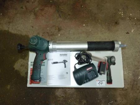 pistolet de silicone sur accus metabo kpa10 8 metabo 25 beerse nord pas de calais. Black Bedroom Furniture Sets. Home Design Ideas