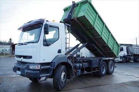camion ampliroll 6x4 renault kerax 400 29500 18000 bourges cher centre annonces achat. Black Bedroom Furniture Sets. Home Design Ideas