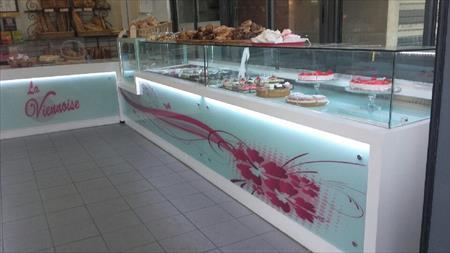 Comptoirs boulangerie p tisserie glacier en france belgique pays bas luxembourg suisse - Comptoir vitrine magasin occasion ...