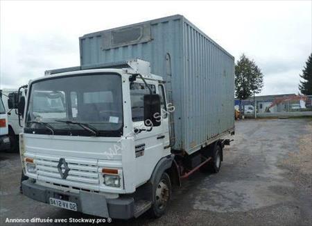 Camions porte conteneurs ou caisses mobiles ou amovibles for Conteneur maritime occasion pas cher