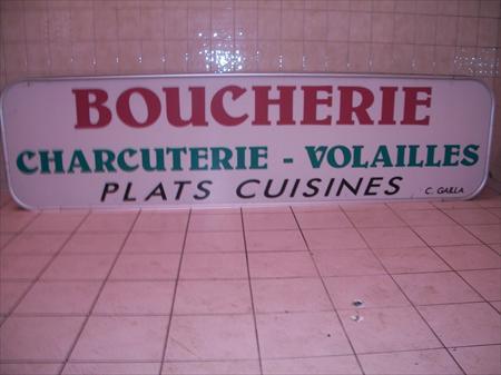 Enseigne Boucherie enseignes boucherie charcuterie rÔtisserie traiteur en france
