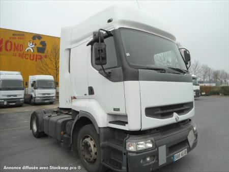 tracteur routier 4x2 renault premium 7500 80000 amiens somme picardie annonces achat. Black Bedroom Furniture Sets. Home Design Ideas