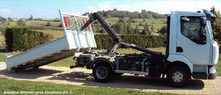 camion ptac 3 5 t benne amovible bras renault midlum 93000 bobigny seine saint. Black Bedroom Furniture Sets. Home Design Ideas
