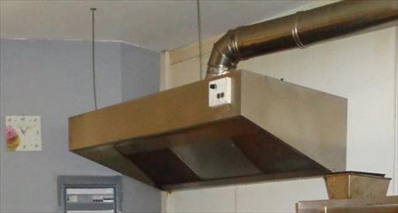 Hottes de cuisine pro avec moteur en france belgique - Degraissage hotte cuisine professionnel ...