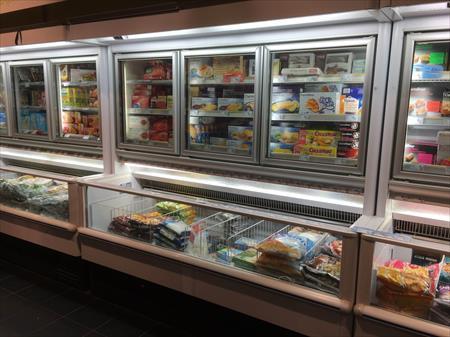 Bacs surgel s cong lateurs libre service en france for Meuble mural refrigere