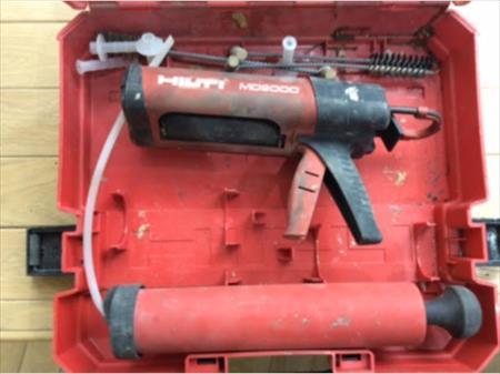 pistolet de scellement hilti hit hy 150 pour ancrages. Black Bedroom Furniture Sets. Home Design Ideas