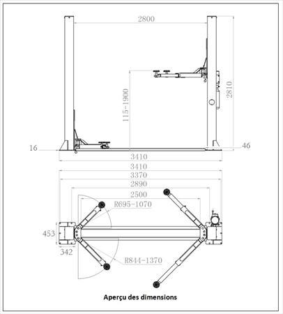 pont 2 colonnes pas cher consogarage 1190 31100 toulouse haute garonne midi pyrenees. Black Bedroom Furniture Sets. Home Design Ideas