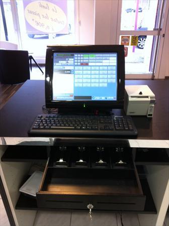 caisse enregistreuse tactile imprimante tiroir posligne odyss epson 2000 57155. Black Bedroom Furniture Sets. Home Design Ideas