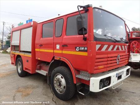 V hicule automoteur sp cialis incendie renault gamme g for Garage saint victoret occasion