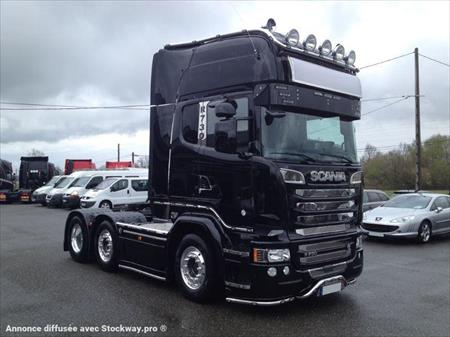 tracteur routier 6x2 scania r730 r730 156000 31800 labarthe inard haute garonne midi. Black Bedroom Furniture Sets. Home Design Ideas