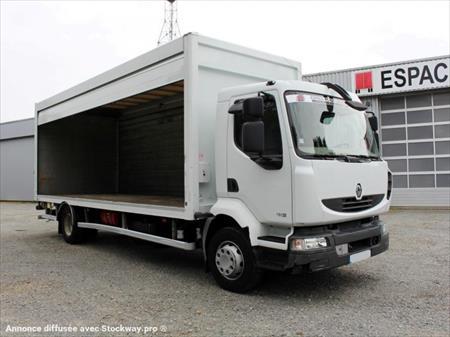 camion ptac 3 5t fourgon avec parois et toit rigide. Black Bedroom Furniture Sets. Home Design Ideas