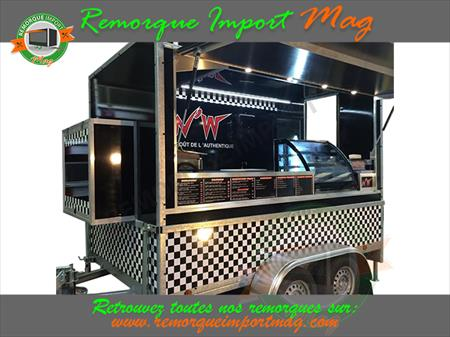 remorque snack food truck pizza magasin burger 80700. Black Bedroom Furniture Sets. Home Design Ideas