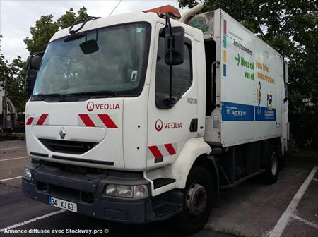 Camion ptac 3 5t benne ordure m nag res renault - Location camion clermont ferrand ...