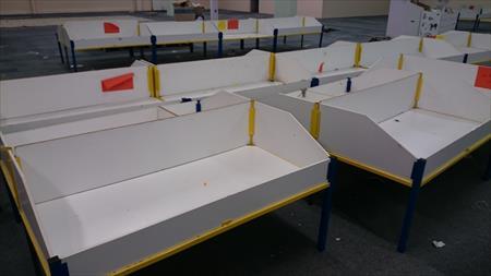 lot 150 tables bac soldeur magic affaires d stocka 41 22550 saint potan cotes d 39 armor. Black Bedroom Furniture Sets. Home Design Ideas