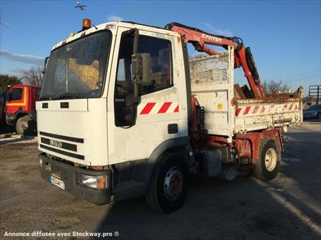 Camion ptac 3 5t benne basculante iveco tipper 100e15 for Garage saint victoret occasion