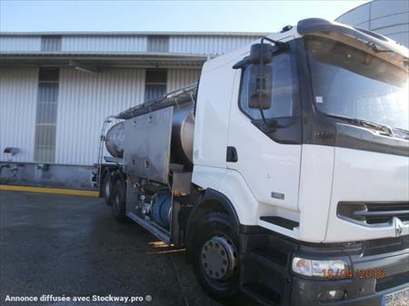 Camion ptac 3 5t citerne produits alimentaires for Garage renault st etienne du rouvray