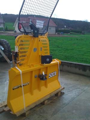 treuil forestier 5 tonnes occasion