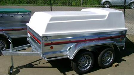 remorque 2 essieux capot poly ptac 500 kg 1489 86700 payre vienne poitou charentes. Black Bedroom Furniture Sets. Home Design Ideas