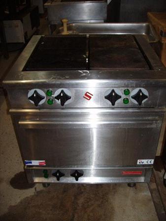 Piano de cuisine inox electrique solymac 1090 - Piano de cuisine electrique ...