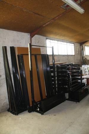 20m agencement magasin boutique pret a porter 540 - Portant vetement professionnel occasion ...