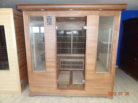 sauna infrarouge luxe 4 5 places mod le d 39 expo france sauna 1195 13740 le rove bouches. Black Bedroom Furniture Sets. Home Design Ideas