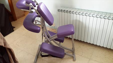 Chaise Massage Assis Professionnelle Ergonomia 14 A 250 62590